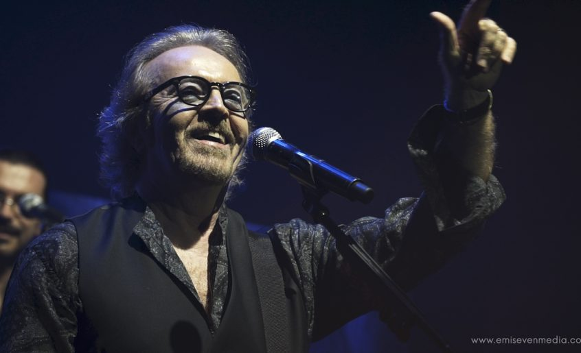 Umberto Tozzi al Ponchielli il 25 febbraio 2018